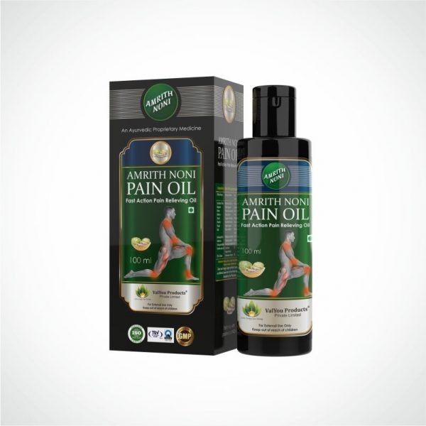 Amrith Noni Pain Oil-Best Ayurvedic Pain Relief Oil in India